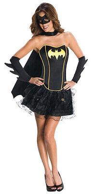 Batgirl Corset Dress für Damen NEU - Damen Karneval Fasching Verkleidung Kostüm ()