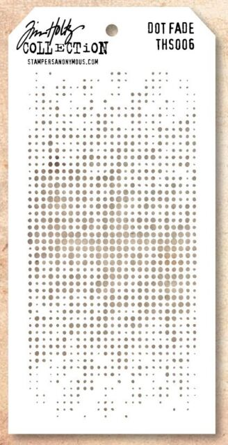 Tim Holtz Layering Stencil Template - Dots Fade Stencils