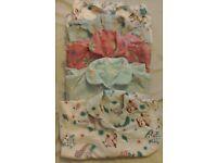 5 pairs of Girls soft brushed cotton (wincey) pyjamas age 3-4yrs