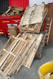 10 Pallets for collection