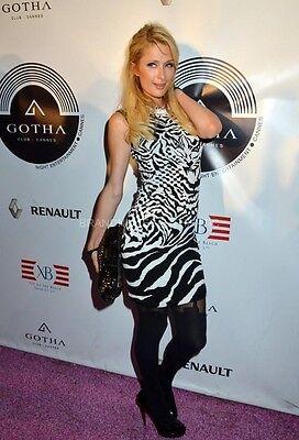 McQ Alexander McQueen Celebrity Tiger Knit Dress Size 44 8-10 $595
