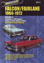 FORD FALCON V8 & 6 XR XT XW XY FAIRLANE ZD WORKSHOP MANUAL 66-72 Sefton Bankstown Area Preview