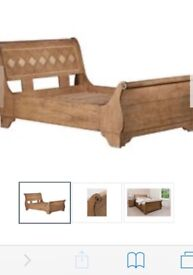 King size Provence bed and side tables