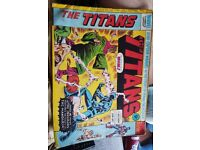The titans comics