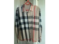 Mens Small Burberry shirt