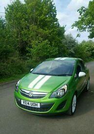 Vauxhall Corsa 1.2 petrol 2014