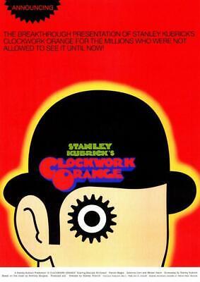 A Clockwork Orange 11x17 Movie Poster (1972)