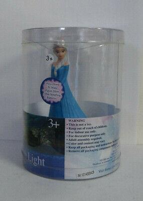 Idea Nuova Figural Push Light Night Light Tabletop Disney Frozen Elsa