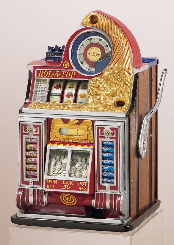 vintage slot machine parts