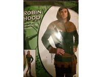 Robin Hood Costume. Size 42/44. Immaculate as unworn