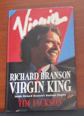 Richard Branson  Virgin King  Inside Business Empire By Tim Jackson 1996 Hcdc
