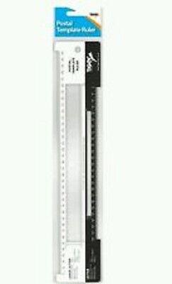 New Tiger Royal Mail Postal Template Ruler Postage LLetter Size PPI Guide Office