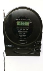 Homedics SS-400B Alarm Clock Radio Sound Machine Spa Therapy -J04