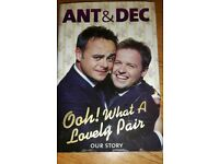 Ant and Dec's autobiography
