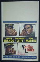YOUNG LIONS 1958 MARLON BRANDO MONTGOMERY CLIFT DEAN MARTIN WC