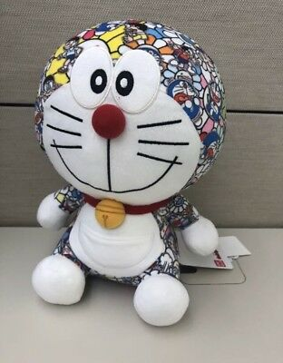 Uniqlo Doraemon X Takashi Murakami Plush Toy Ut Collection Off White Exclusive