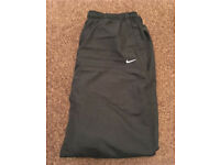 Men's Black Nike Tracksuit Bottoms Size XXL