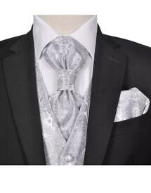 Men's Paisley Wedding Party waistcoat