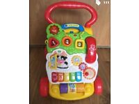 V-Tech First Steps Baby Walker : excellent condition