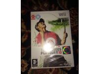 Wii Tiger Woods PGA Tour 10