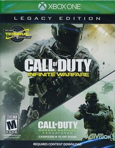 Call of duty infinite warfare legacy édition Xbox one