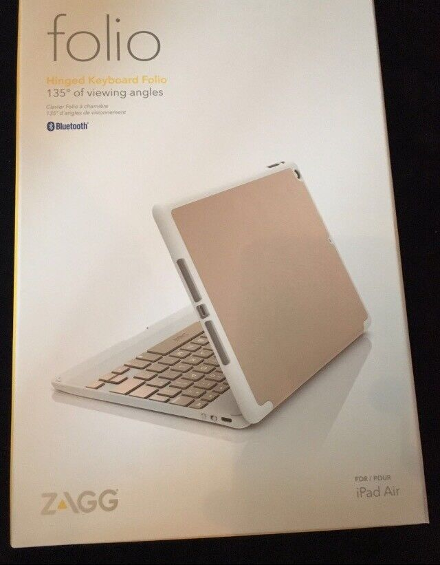 iPad Air Cover With Bluetooth keyboard