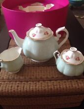 Royal Albert Polka Rose Teapot Set Canterbury Boroondara Area Preview