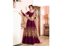 Brand new semi stitched Indian dress