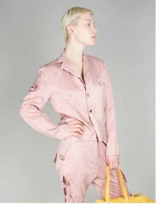 Area Di Barbara Bologna Pink Suit Size 10-12UK RPI 1150