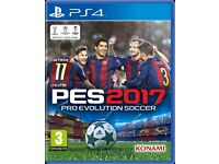 PES 2017 / PS4 GAME / FOR SALE OR SWAPS