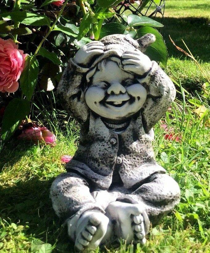 Gnom , Troll, , Gartenfigur, Steinfigur ART1525