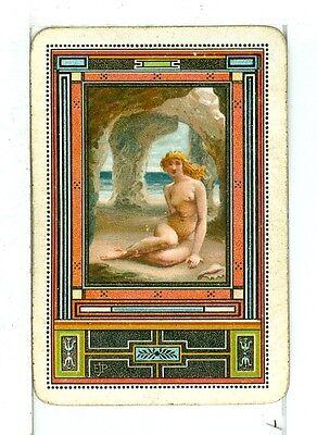 Singolo Carte da Gioco Vintage Antico Poynter Arte, Elencati come Po-13-4 A