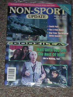 NON-SPORT UPDATE VOL 09 NO 3 JUN 1998 - JUL 1998 Godzilla