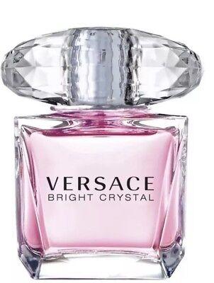 VERSACE bright Crystal Perfume 0.17 oz 5 ml EDT Splash Women New In Box