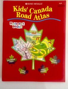 Kids Canada Road Atlas Backseat Workbook. $2.00