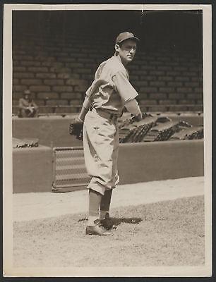 1938 Orig 1St Gen Press Photo   Sam Chapman  Athletics