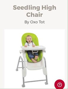 Seedling high chair - by Oxo Tot