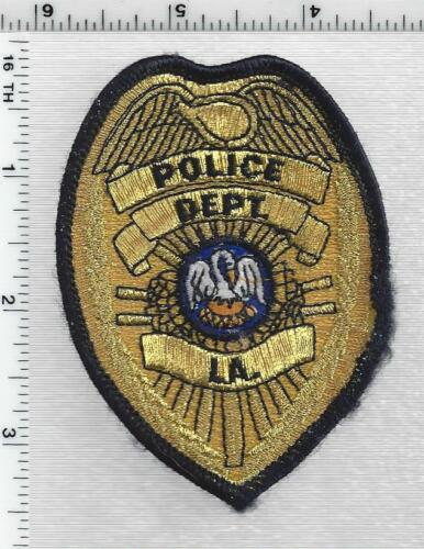 Police Department (Louisiana) Generic Cap/Hat Patch