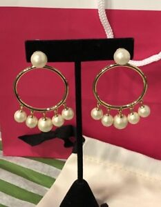 BNWT Authentic Kate Spade Rose Gold with pearls