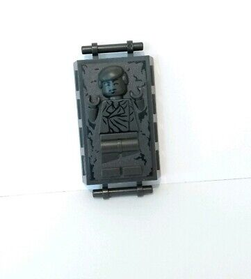 LEGO HAN SOLO IN CARBONITE minifigure STAR WARS set 9516 8097 jabba's palace