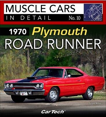 Muscle Cars In Detail No. 10 1970 Plymouth Road Runner - Book CT581
