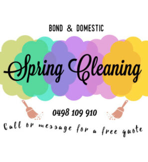 Domestic and bond cleaning