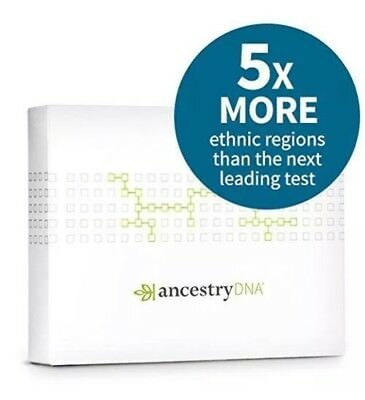 Ancestrydna  Genetic Testing   Dna Ancestry Test Kit  Sealed  Free Fast Shipping
