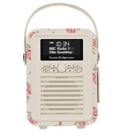 Brand New Unopened Emma Bridgewater DAB Radio - Rose & Bee
