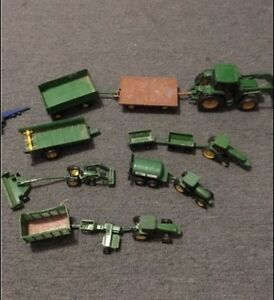 John Deere Toy Tractors Lot! All for $50