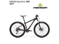 Merida Big Seven 500 front suspension mountain bike