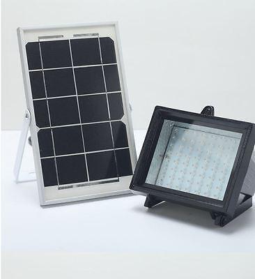 Bizlander® Outdoor Waterproof 60LED Solar Flood Light for Sign Car Parking Lot