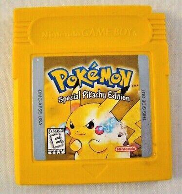Game Boy Pokémon Yellow Version Special Pikachu Edition Game Cartridge Nintendo