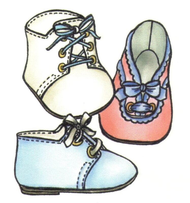 Sewing pattern Re-Born doll Baby Toddler SHOE pattern in 8 different  sizes 1563