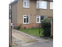 Two bedroom ground floor flat with garden and off road parking